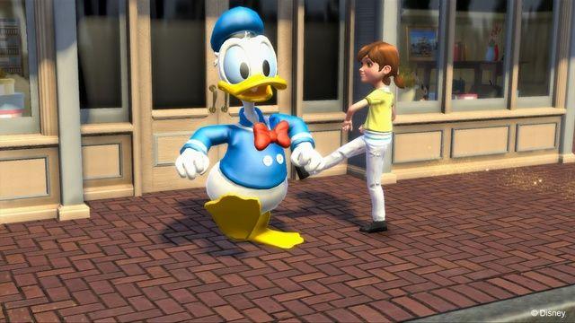 《迪士尼乐园大冒险》游戏截图