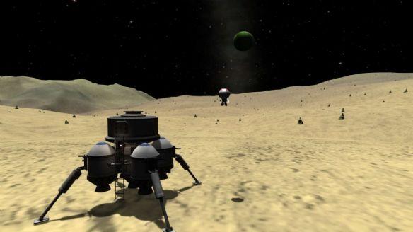 《坎巴拉太空计划 》游戏中文截图
