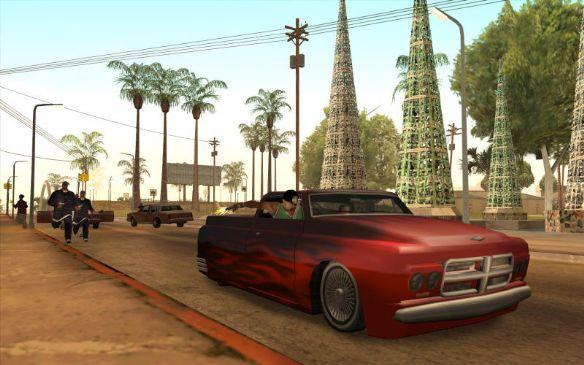 《侠盗猎车手:圣安地列斯》游戏截图