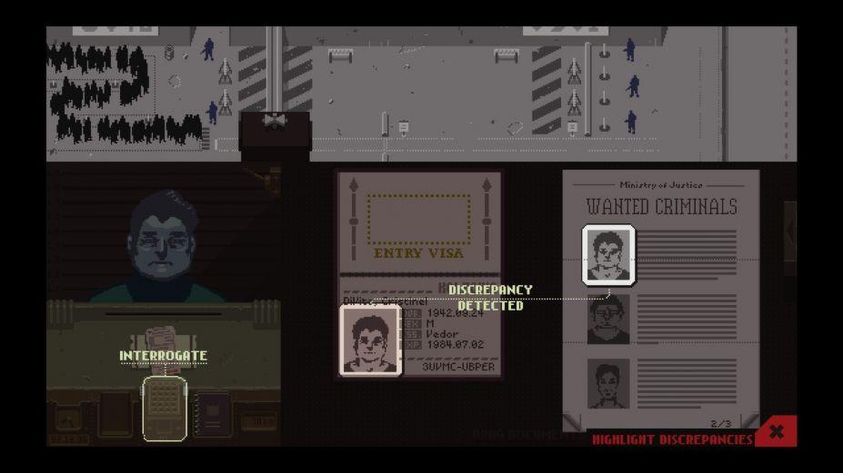 《請出示證件》游戲截圖