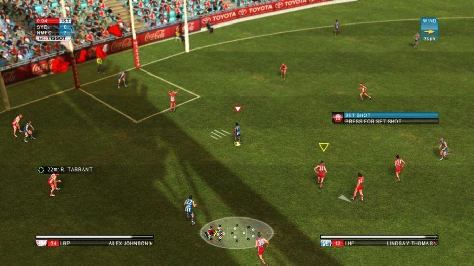 《实况橄榄球2》游戏截图