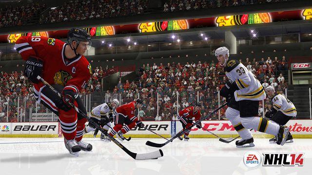 《美国职业冰球联盟14》游戏截图