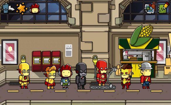 《涂鸦冒险家:DC漫画冒险》游戏截图