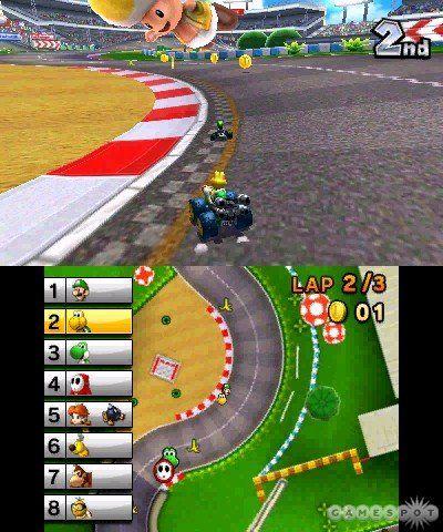 《马里奥赛车7》游戏截图