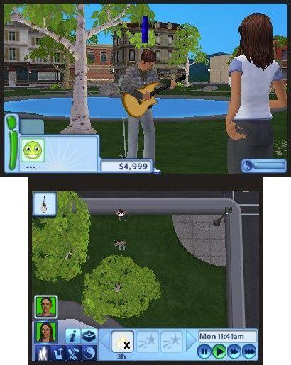 《模拟人生3》3DS游戏截图