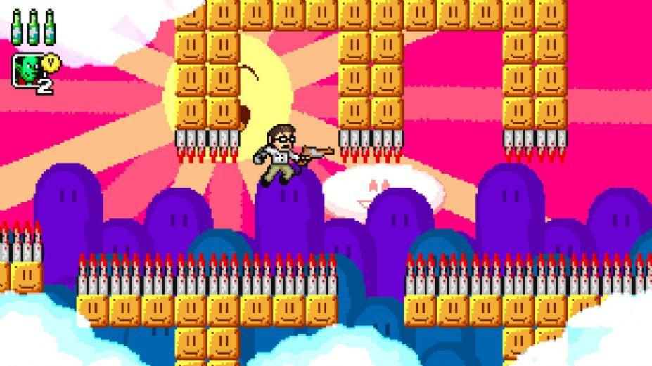 《愤怒的电视游戏宅男冒险》游戏截图