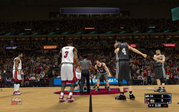 《NBA 2K14》游侠汉化游戏截图