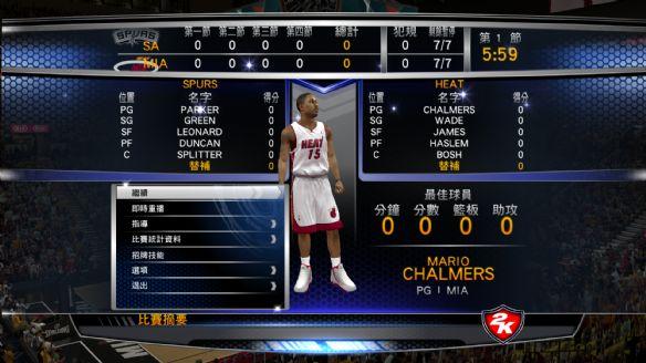 ��NBA 2K14���ٷ��������İ���Ϸ��ͼ