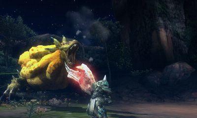 《怪物猎人3G》游戏截图