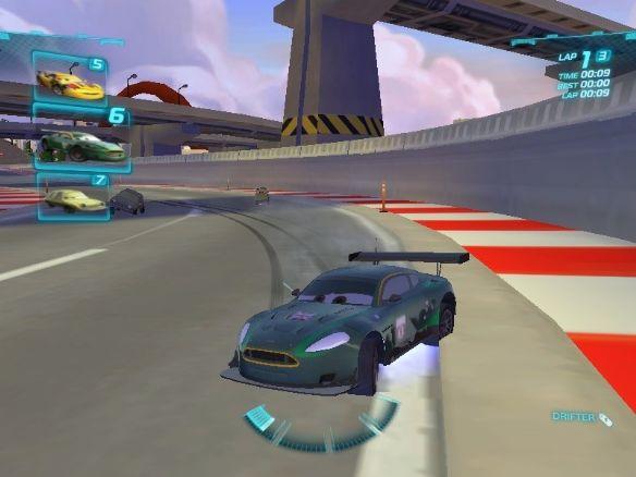 《汽车总动员2》3ds游戏截图