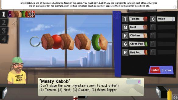 《烹调,上菜,美味》游戏截图