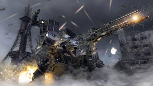 《装甲核心:裁决日》游戏截图