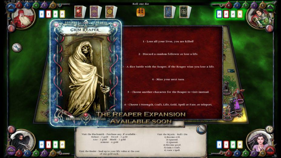 《圣符国度:数字版》游戏截图