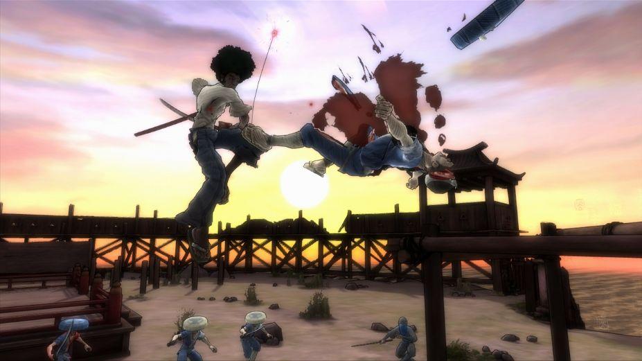 《爆炸头武士》游戏截图