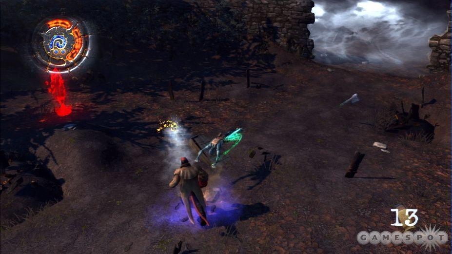 《地狱男爵:恶魔科学》游戏截图