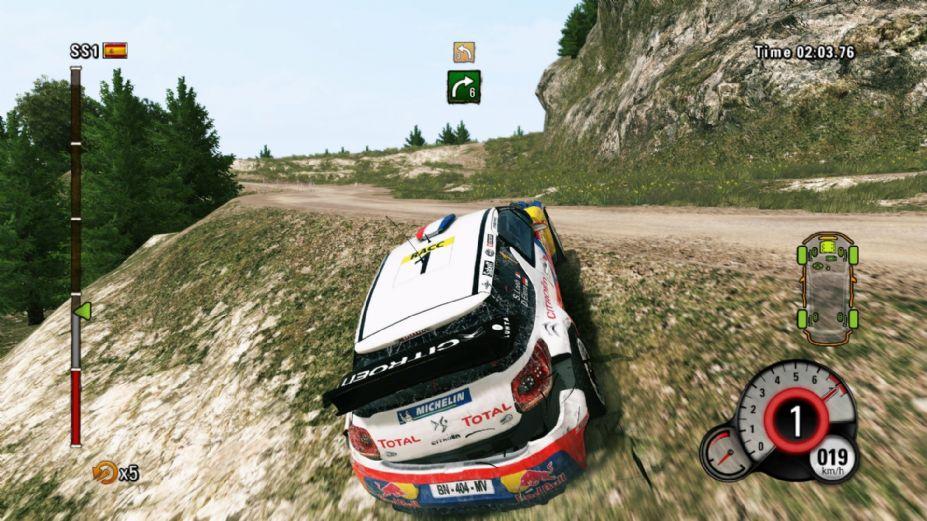 《fia世界汽车拉力锦标赛4》游戏截图