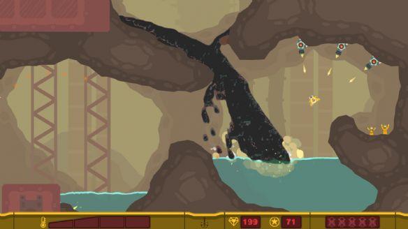 《像素垃圾:射手》游戏截图