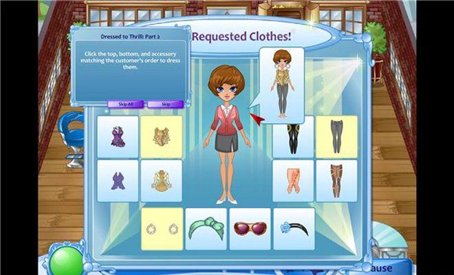《寻找时尚》游戏截图