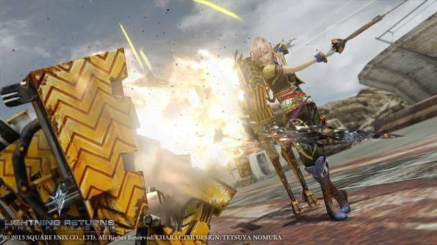 《最终幻想13:雷霆归来》游戏截图-1