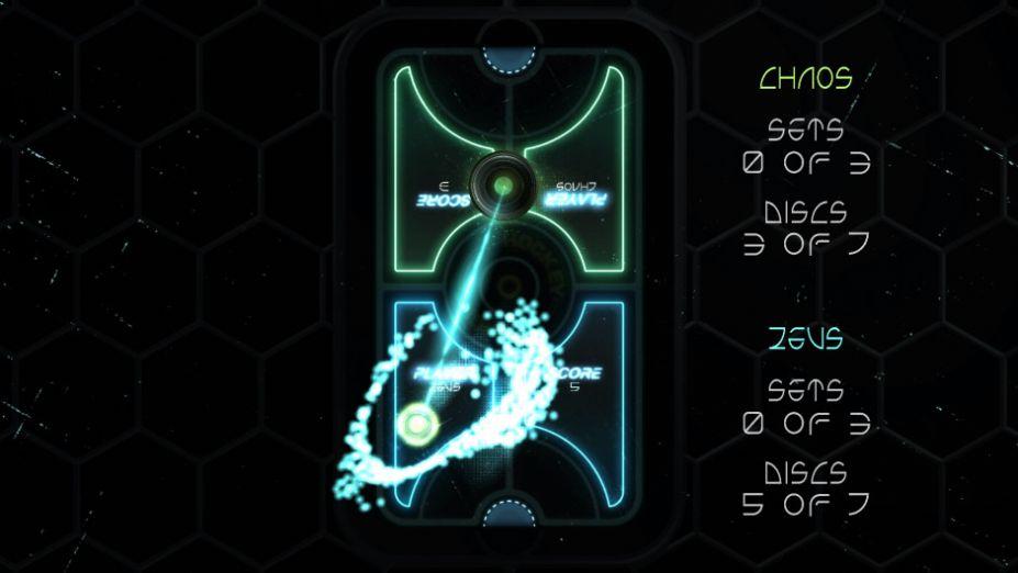 《炫光冰球》游戲截圖