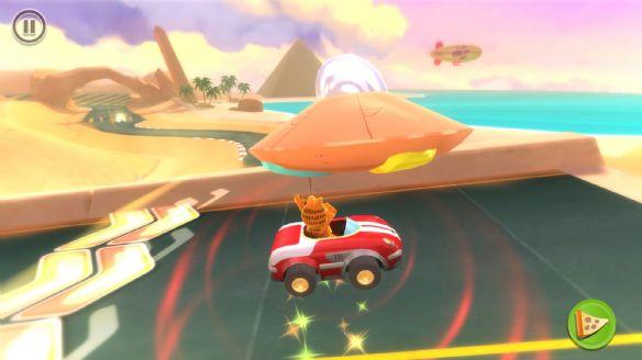 《加菲猫卡丁车》游戏截图