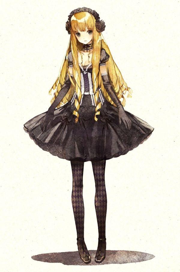 二次元世界洛丽塔洋装少女美图赏