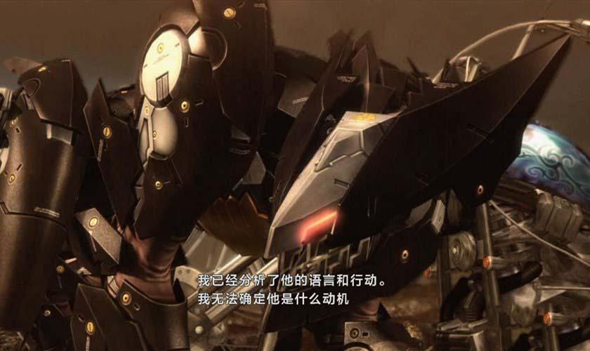 《合金装备崛起:复仇》汉化版截图