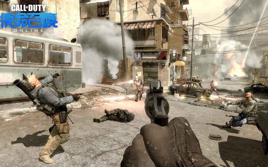 《使命召唤online》游戏截图-2