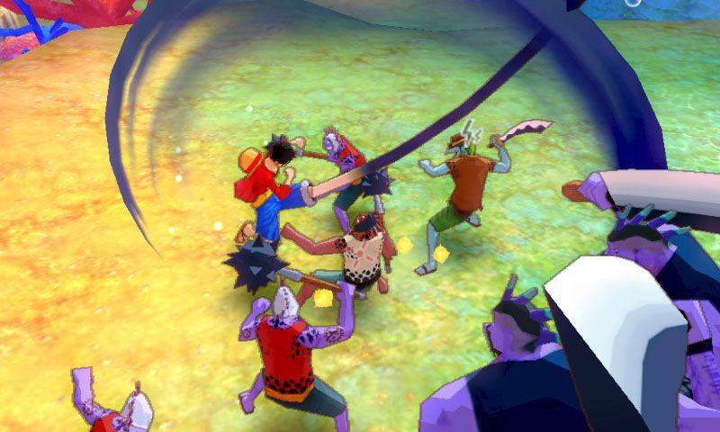 《海贼王:无尽世界R》游戏截图