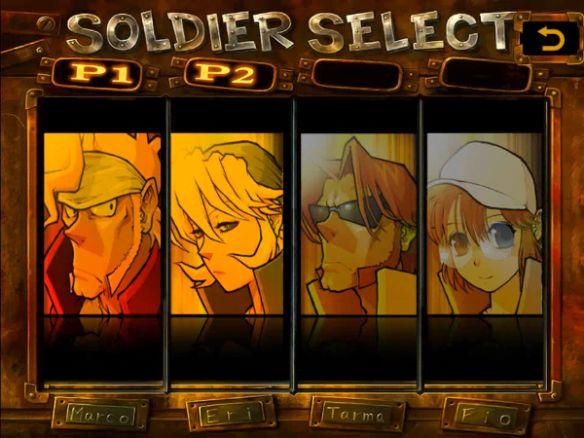 《合金弹头3》游戏截图