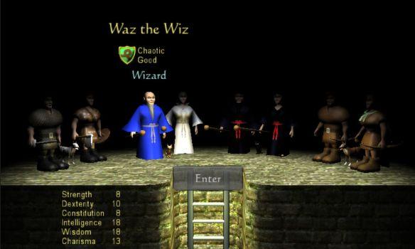 《地牢勇士》游戏截图