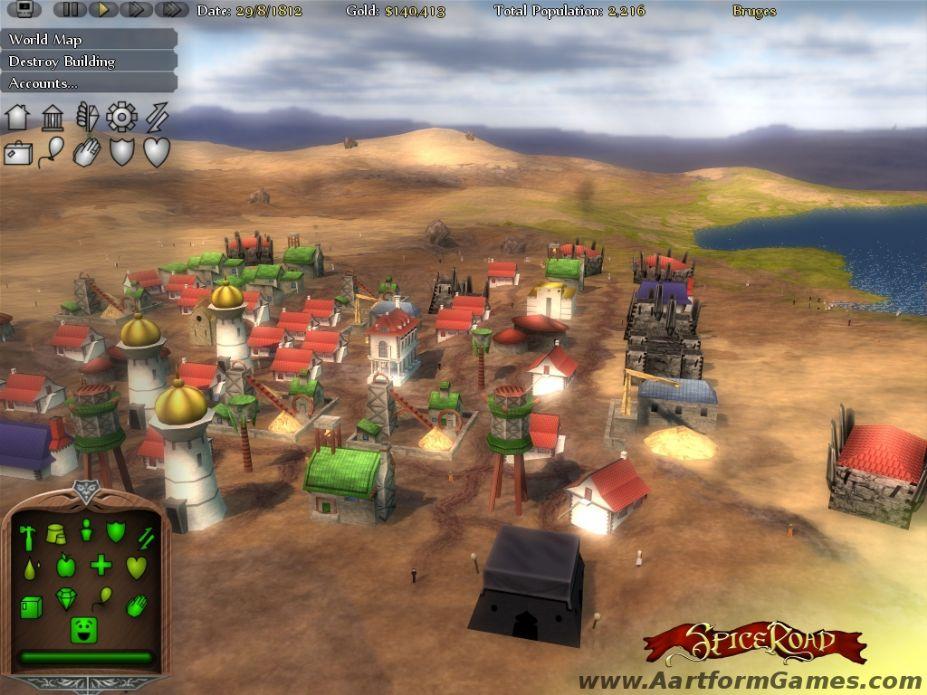 《香料之路》游戏截图