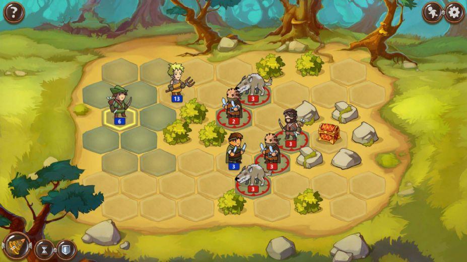 《勇士之地》游戏截图