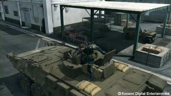 《合金装备:原爆点》游戏截图-4