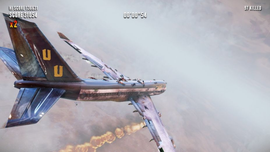《飞机上的僵尸》游戏截图(4)