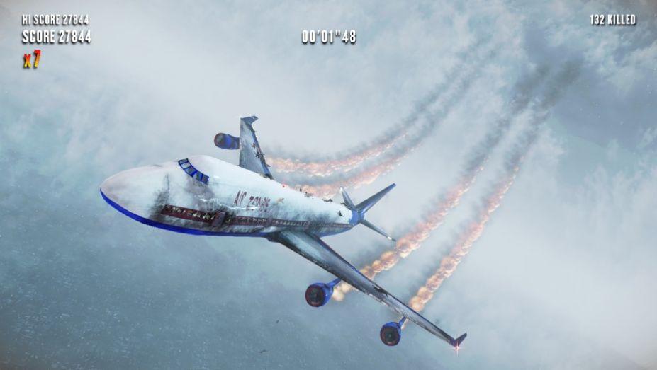 《飞机上的僵尸》游戏截图