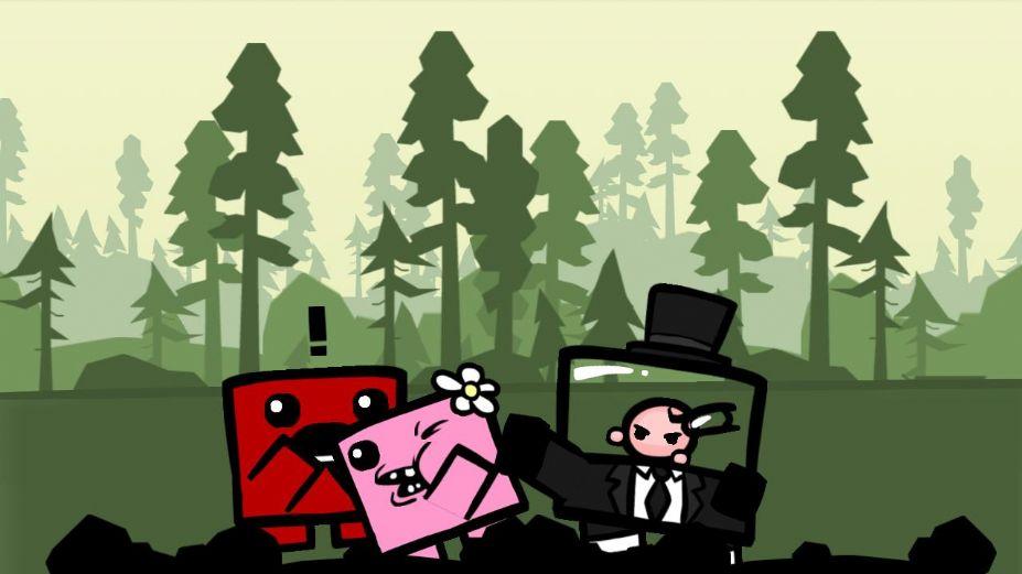 《超级食肉男孩》游戏截图