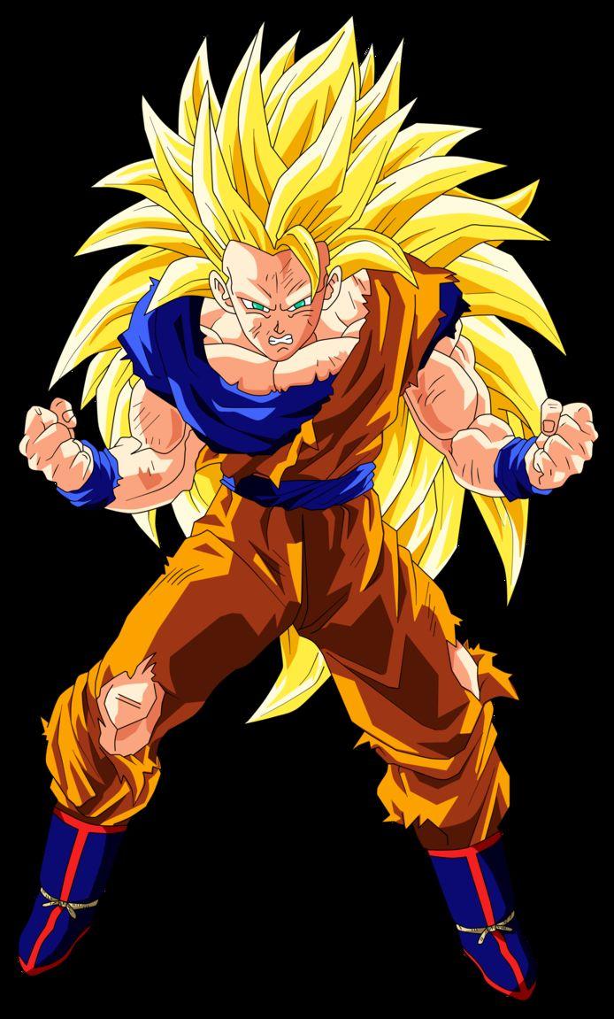 超级赛亚人超强合集,黄头发不是非主流!
