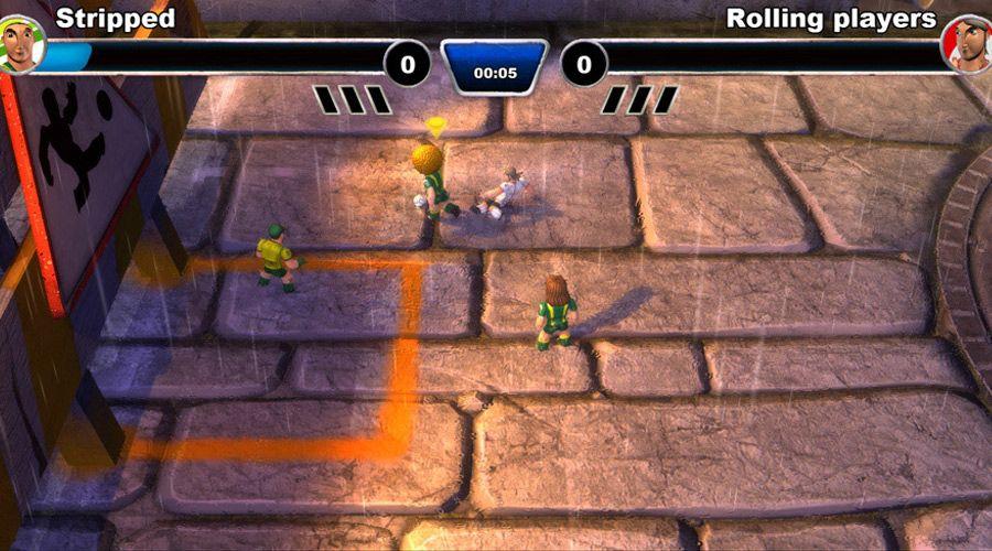 《桌面足球:街头版》游戏截图
