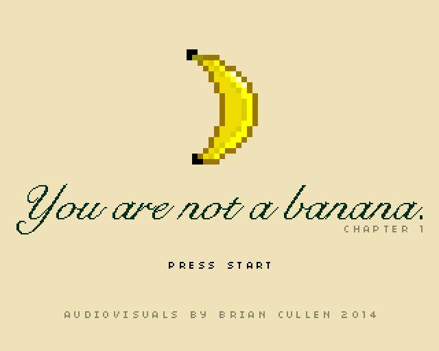 《你不是一条香蕉》游戏截图