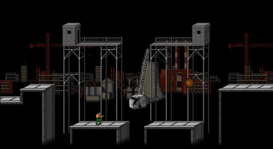 《復刻魂斗羅》游戲截圖