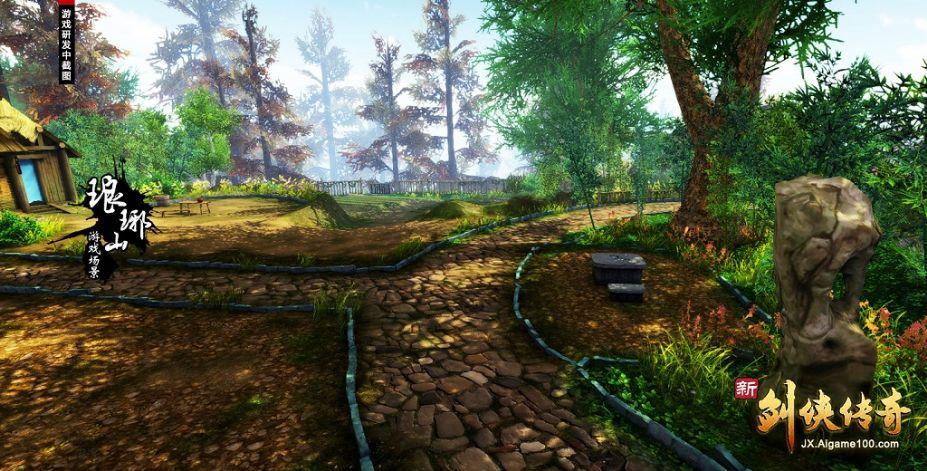 《新剑侠传奇》游戏截图-2(1)