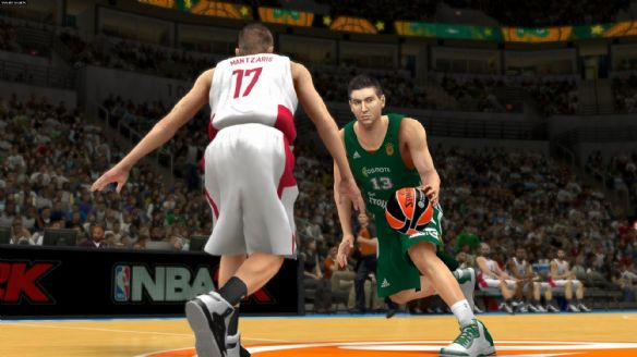 《NBA 2K14》游戏截图-2