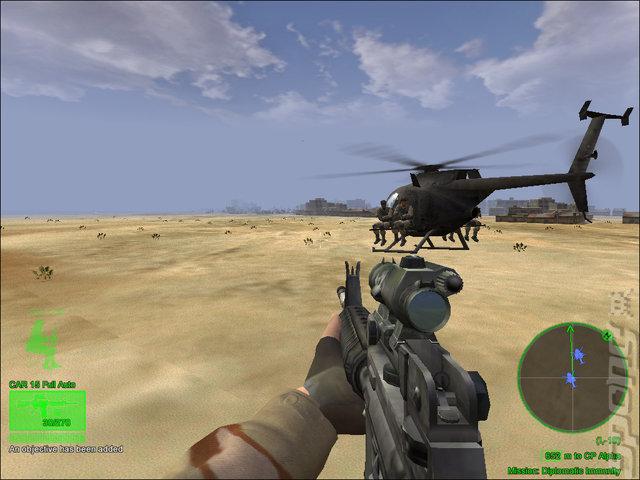 《三角洲特种部队之军刀部队》游戏截图