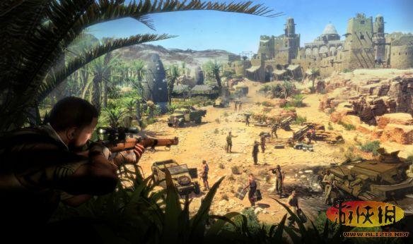 《狙击精英3》PC高清截图