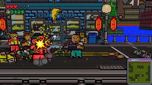 《热血英雄:红城危机》游戏截图