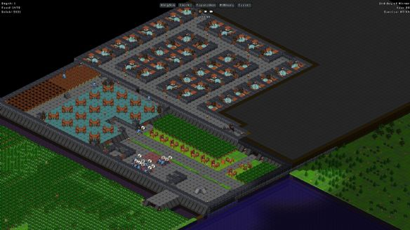 《矮人村庄》游戏截图