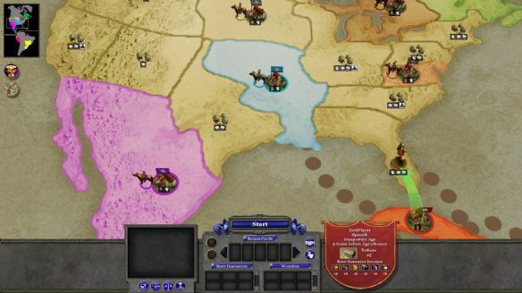 《国家的崛起:扩展版》游戏截图