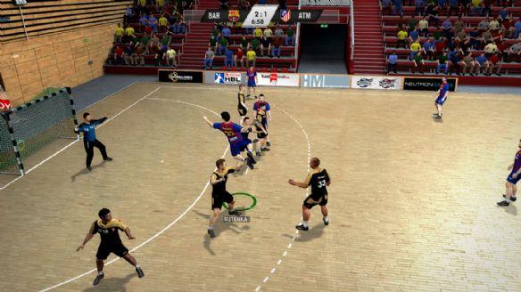 《手球挑战赛12》游戏截图