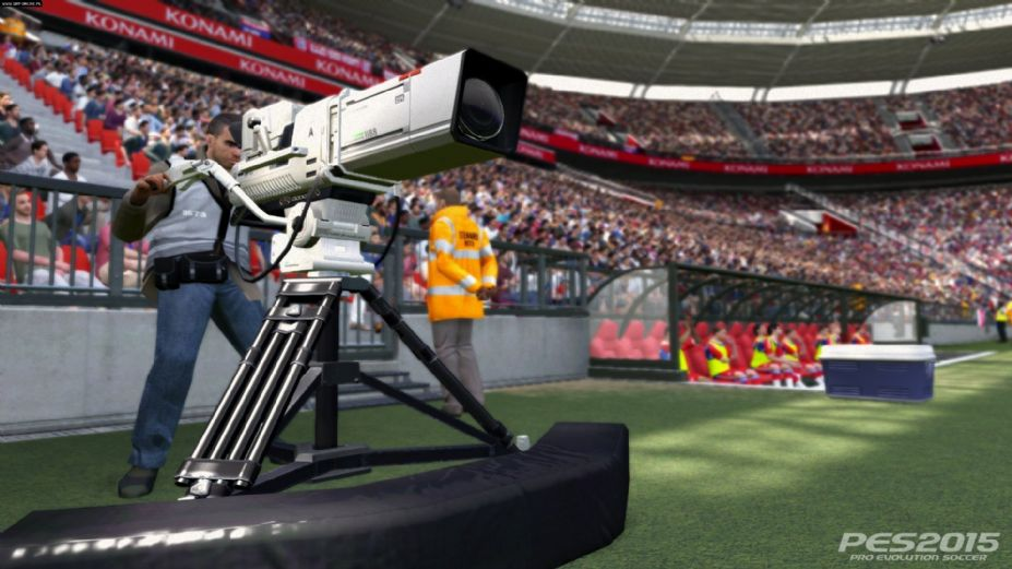 《实况足球2015》游戏截图